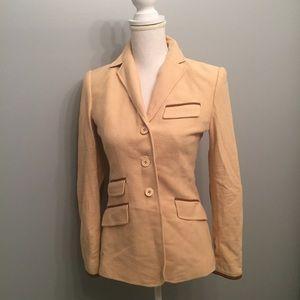 Ralph Lauren Sport Vintage Fitted Blazer Size 2